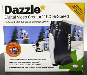 *NEW* Dazzle Digital Video Creator 150 Hi-Speed USB 2.0 Video Editing System