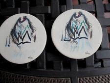 Bill Rabbit Southwest Indian Art SoapStone Hand Crafted,Signed, Coaster Set