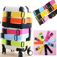 Hot Adjustable Suitcase Luggage Straps Travel Buckle Baggage Tie Down Belt Lock