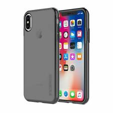 Incipio DualPro Pure Strong Case Cover For iPhone XS & X - Smoke Black / Clear