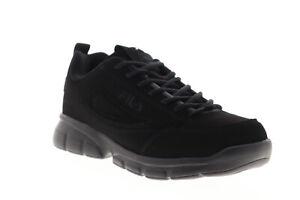 Fila Disruptor SE 1SX60023-001 Mens Black Lace Up Lifestyle Sneakers Shoes
