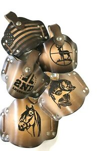 Universal Leather Gun Holster Retention Strap Choose from 4 Designs Handmade