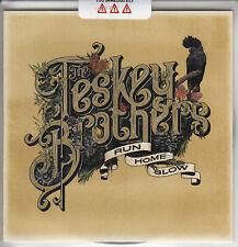THE TESKEY BROTHERS Run Home Slow 2019 UK 10-trk numbered promo test CD sealed