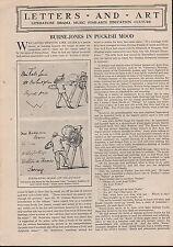 BURNE-JONES IN A PUCKISH MOOD - LETTERS TO KATIE 1926