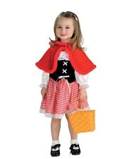 New Red Riding Hood Costume Halloween Fancy Dress Size Small