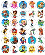 30  Paw Patrol Edible Image Cupcake toppers Birthday Party Decoration