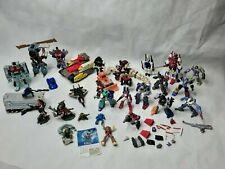Lot Of Mixed Figures Transformers Old And New Pvc Gen 1 2001 Takara