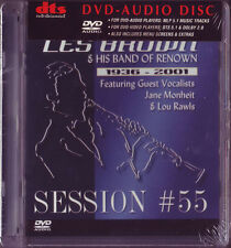 """~Les Brown Band of Renown~ 1936-2001 """"Session #55"""" Lou Rawls Audio-DVD Brand New"""