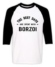 Borzoi Dog Owner T-shirt Funny Borzoi Dog Lover Gift Adopt Dog Gift Tee