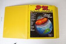 P.M. Magazin Peter Moosleitners interessantes 12 Ausgaben 1980/81 Sammelordner