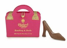 Charbonnel et Walker Milk Chocolate Shoes in Pink Handbag Box 60 g