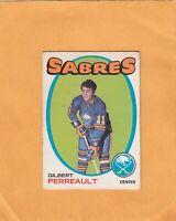 1971-72 O PEE CHEE GILBERT PERREAULT NO:60  v g cond