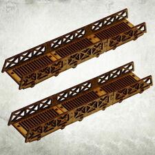 Modular Bridges - Grated Kromlech Hdf Tabletop Scenics KRTS036