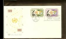 [A09_69] 1968 - VN/UNO New York FDC Mi. 204-205 (2) - World Weather Watch - OMM