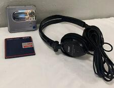 Md Walkman Mz-Nh600D with Sony Mdr-V150 Headphones