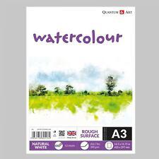 Aquarelle dur Surface Coussin Dessin artiste papier - gommé - LIVRE - 300 g/m²