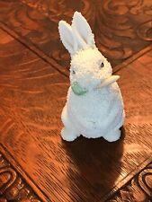 Dept 56 Snowbunnies Small Easter Rabbit 1996 Vintage Nice Collectible
