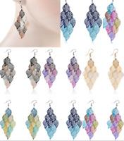 Women's Leaves Earring Bohemian Jewelry Dangle Drop Earrings Boho Earbob Gift