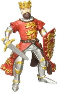 KING RICHARD RED RETIRED 39338 - PAPO KNIGHTS  -- NEW IN PLASTIC