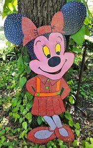 Jack Baron Key West Florida Artist Folk Outsider Art Painting Minnie Mouse