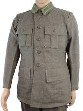 (4) WW2 STYLE SWEDISH ARMY M39 WOOL JACKET 1952 DATED SIZE 96