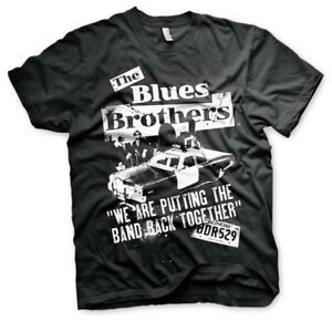 Officially Licensed Blues Brothers- Band Back Together Men's T-Shirt S-XXL Sizes