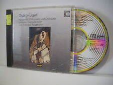 KONZERT FUR VIOLONCELLO UND ORCHESTER/LONTANO..- 1  CD - GYORGY LIGETI - (PP5)