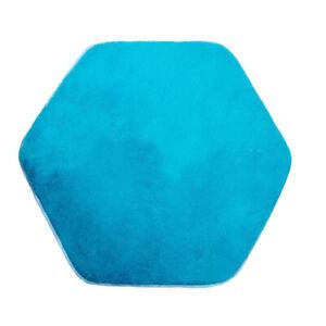 Hexagonal Rug Pad Mat for Kids Playhouse Play Tent Cushion Floor Mat,