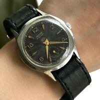 Vintage MAYAK Guilloche Military USSR Mens WW2 Mechanical SERVICED Russian 1960s