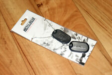 2014 Metal Gear Solid Foxhound Konami Rare Dog Tag Necklace
