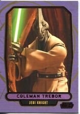 Star Wars Galactic Files 2 Red Parallel Base Card #420 Coleman Trebor