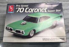 AMT ERTL 1970 Dodge Coronet Super Bee Pro Street Model Kit #6140 1992 1/25
