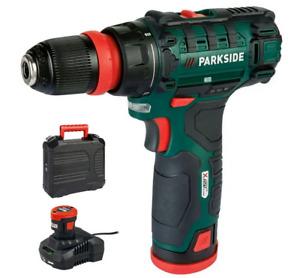 PARKSIDE® Perceuse-visseuse sans fil »PBSA 12 D4« 12 V Avec Batterie Chargeur