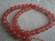 "16"" brin de Cherry Quartz ~ 10 mm ronde ~ Perles"