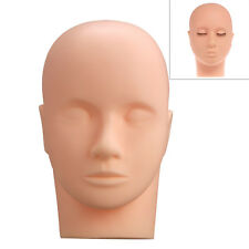 Mannequin Training Head Salon Makeup Microblading Eyelash Extension Practice