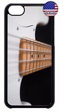 Slim Back Hard Case Cover For Apple iPod 4 5 6 Bass Guitar Rock Strings Music