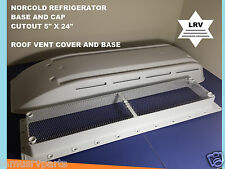 Norcold  Refrigerator Vent Cover With Base for RV Camper, Motorhome, 5th Wheel.