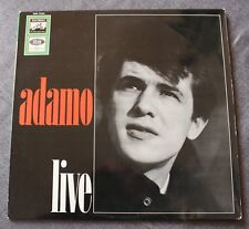 Adamo, Live, LP - 33 tours import Germany