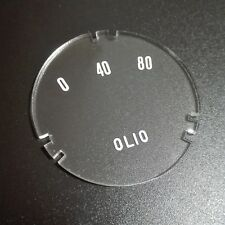 Reproduction - Internal Lens for VEGLIA Oil Pressure Gauge Ferrari 250 GTO GTE