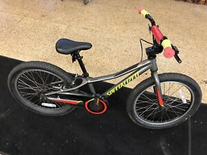 "Rare Specialized RipRock - Boys 20"" Win Free BMX Bike Gray color"