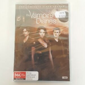 THE VAMPIRE DIARIES The Complete Sixth Season 6 DVD 5 Discs New Sealed
