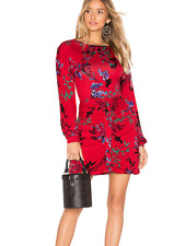 NEW NWT womens HOUSE OF HARLOW REVOLVE dress floral ruched club designer XXS