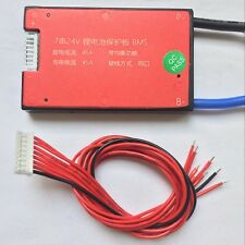 24V 7S 45A 18650 Li-ion Lipolymer battery BMS PCB PCM for ebike ebicycle DIY