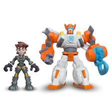 Playskool Heroes Transformateurs Rescue Bots Blades Flight-BOT & Dani Burns figures