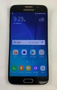 Samsung SM-G920R4 Galaxy S6 US Cellular Smartphone Fingerprint Reader GOOD