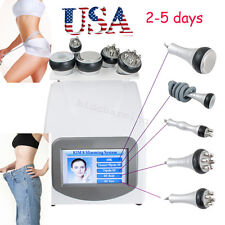 5In1 Ultrasonic Cavitation RF Radio Frequency Vacuum Slim Machine weight loose A