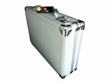 Aluminium Metal laptop Briefcases MacBook Attache Case 15.6 17.3 Inch Briefcase
