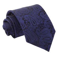 Mens Tie Woven Floral Paisley Formal Wedding Regular Classic Necktie by DQT