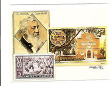 CENTENNIAL OF BASEBALL STAMP  POST CARD by CHRISTOPHER PALUSO