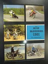 Alle Motoren 1981 door F.A. Hesselmann